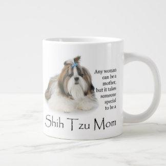 Shih Tzu Mom Jumbo Mug