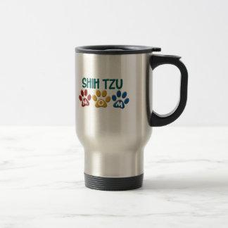 SHIH TZU Mom Paw Print 1 Mugs