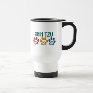SHIH TZU  Mom Paw Print 1 Stainless Steel Travel Mug