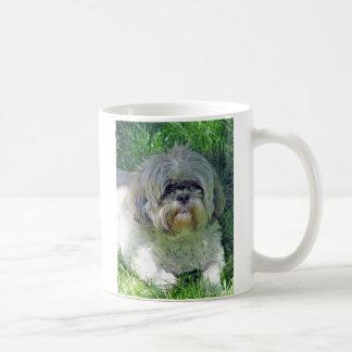 shih tzu classic white coffee mug