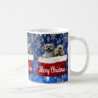 Shih tzu Mug Christmas