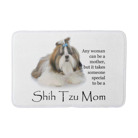 Shih Tzu Mum Bath Mat