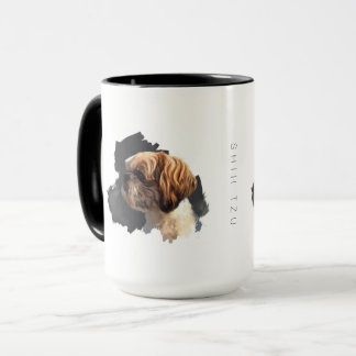 Shih Tzu Original Art Mug