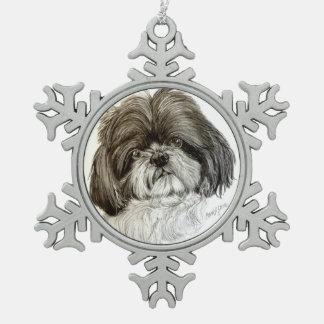 Shih tzu Ornament by Carol Zeock