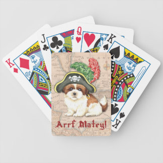 Shih Tzu Pirate Poker Deck