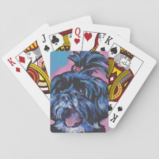 Shih Tzu Pop Art Playing Cards