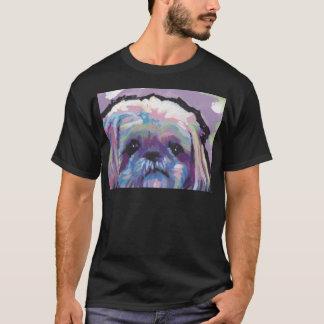 shih tzu pop dog art T-Shirt