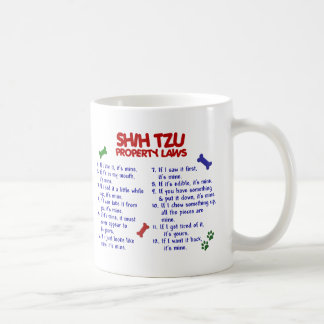 SHIH TZU Property Laws 2 Coffee Mug