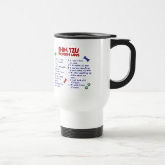 SHIH TZU Property Laws 2 Stainless Steel Travel Mug