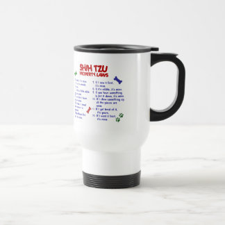 SHIH TZU Property Laws 2 Travel Mug