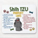 Shih Tzu Property Laws 4 Mouse Pad