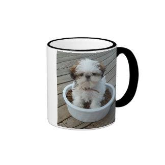 Shih Tzu Puppy Photo Mug