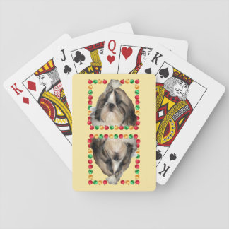 Shih Tzu Puppy Poker Deck
