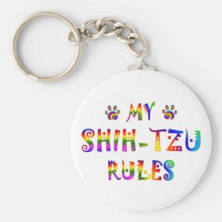Shih-Tzu Rules Fun Key Ring