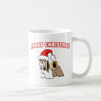 Shih Tzu Santa-Merry Christmas Mug