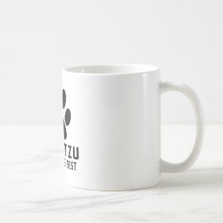 Shih tzu Simply the best Basic White Mug