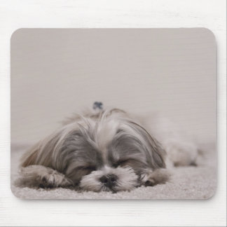 Shih tzu Sleeping Mousepad , Sleeping Dog