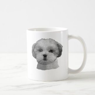 Shih Tzu - Stylized Image - Add Your Qwn Text Coffee Mug