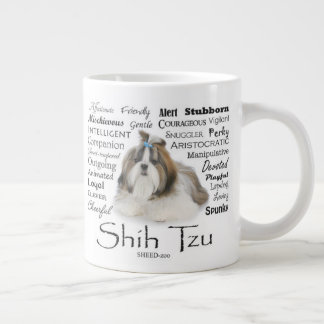 Shih Tzu Traits Jumbo Mug