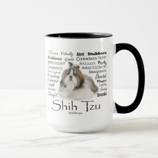 Shih Tzu Traits Mug