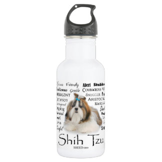 Shih Tzu Traits Water Bottle