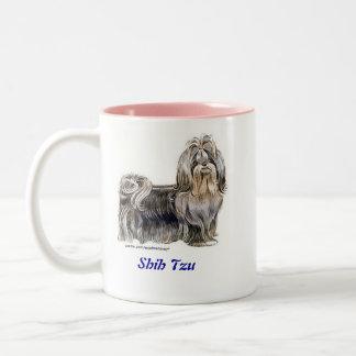 Shih Tzu Two-Tone Mug