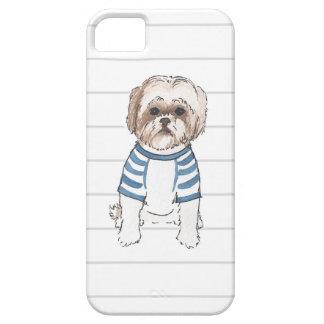 Shih Tzu Watercolor Iphone Case