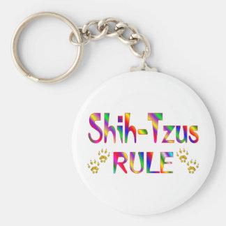 Shih-Tzus Rule Key Ring