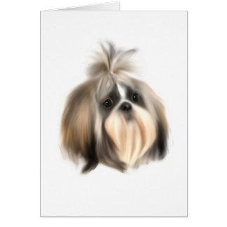 ShihTzu Dog Card