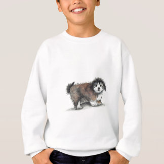 Shihtzu Puppy Dog, Pet Sweatshirt