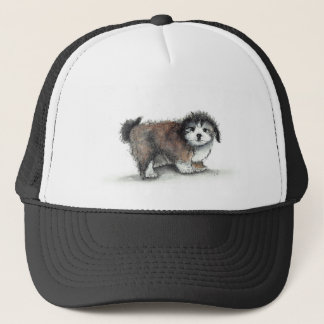 Shihtzu Puppy Dog, Pet Trucker Hat