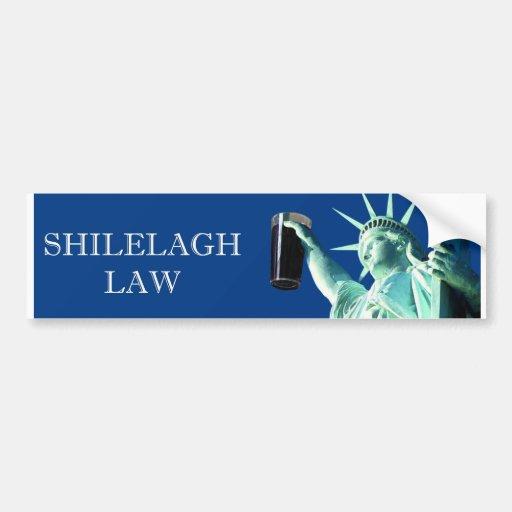 Shilelagh Law Bumper Stickers