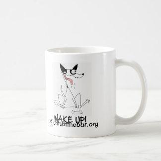'Shilo the Cat-Dog' wake up mug