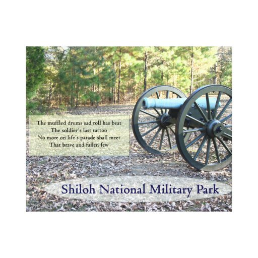 Shiloh National Military Park Stretched Canvas Print