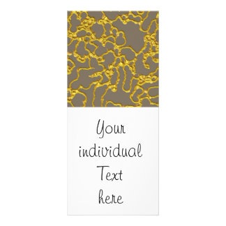 Shimmering abstract creamy lines (I) Rack Card Template