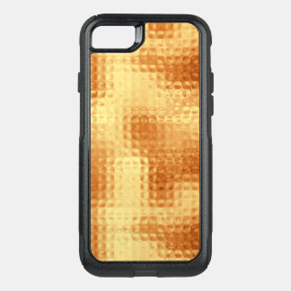 Shimmering Pounded Gold OtterBox Commuter iPhone 8/7 Case