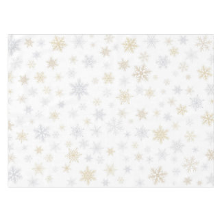 Shimmering Snow Tablecloth