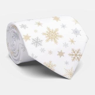 Shimmering Snow Tie
