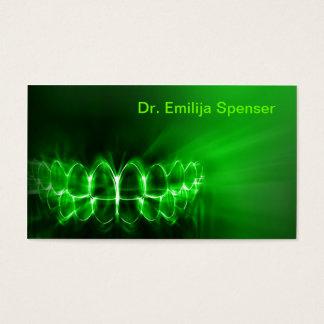 Shimmering Teeth Smile Dental Care Green Card