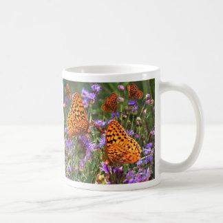 Shimmery Fritillary Coffee Mugs