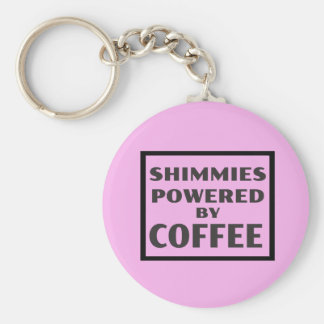 Shimmies Powered by COFFEE Key Ring