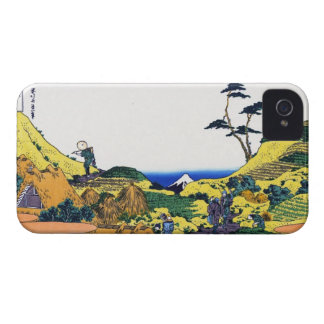 Shimomeguro katsushika Hokusai Fuji view iPhone 4 Case-Mate Cases