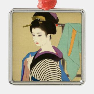 Shimura Tatsumi Two Subjects of Japanese Women Ornaments