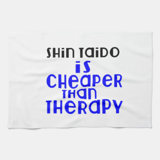 Shin Taido Is Cheaper  Than Therapy Hand Towels