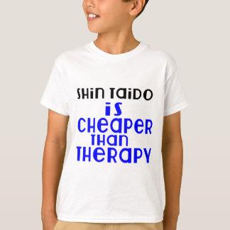 Shin Taido Is Cheaper  Than Therapy T-Shirt