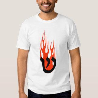 Shin with Flames Tshirt
