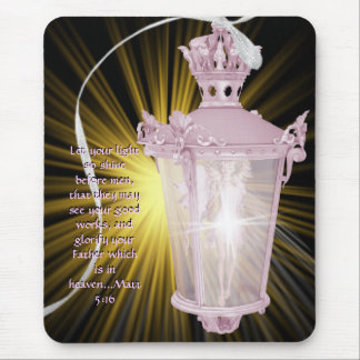 SHINE BEFORE MEN MOUSE PAD