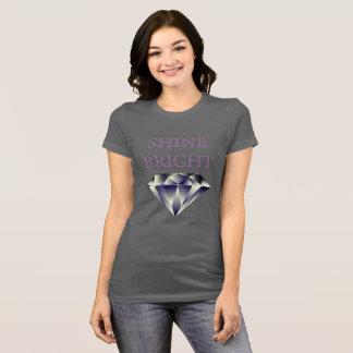 SHINE BRIGHT Brilliant Multifaceted Diamond Shirt