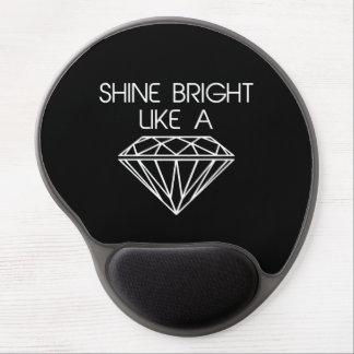 Shine Bright Like a Diamond Gel Mousepad