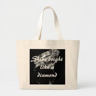 Shine Bright Like A Diamond Jumbo Tote Tote Bag